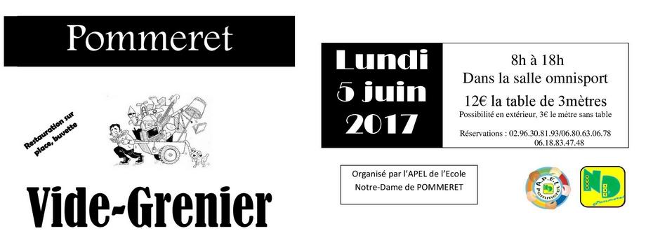 Vide grenier 2017 ecole notre dame for Vide grenier loiret 2017